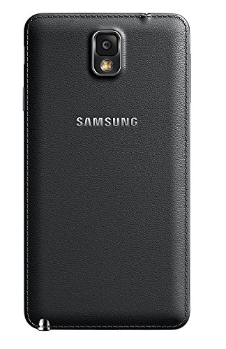 Red Qube Back Replacement Cover for Samsung Galaxy Note 3 (Black)