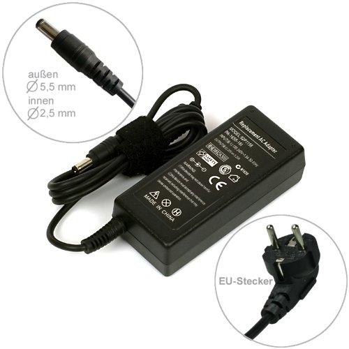 Lishin portátil fuente de alimentación AC adaptador cargador para Fujitsu Siemens Amilo La 1703Li2727Li3710Pi 2515. Con cable eléctrico Euro de e-port24
