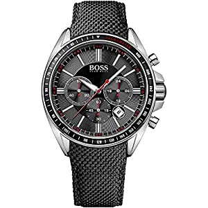 Hugo Boss Black Driver Sport Mens Chronograph Watch 1513087 de Hugo Boss Black