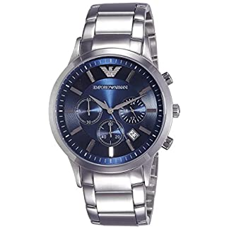 Emporio Armani Renato Analog Blue Dial Men's Watch – AR2448
