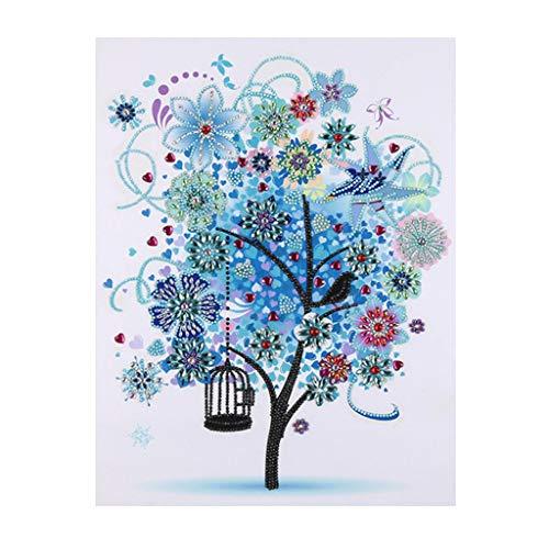 1-Bleu, 2 Bouquet Famibay 2Pcs Roses Fleurs Artificielles
