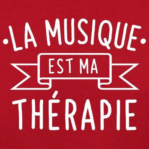 La musique est ma thérapie - Femme T-Shirt - 14 couleur Rouge