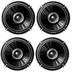 SoundBoss 6 Dual Performance Auditor 250W MAX B1615 Coaxial Car Speaker (pack of 4)