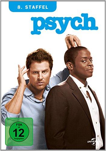 Psych - 8. Staffel [3 DVDs] 8 Sieb