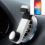 K-S-Trade® Smartphone Halterung Autohalterung Für Vernee Apollo 2 Lüftungshalterung Handy Halter Lüftungsgitter Smartphonehalterung Weiß
