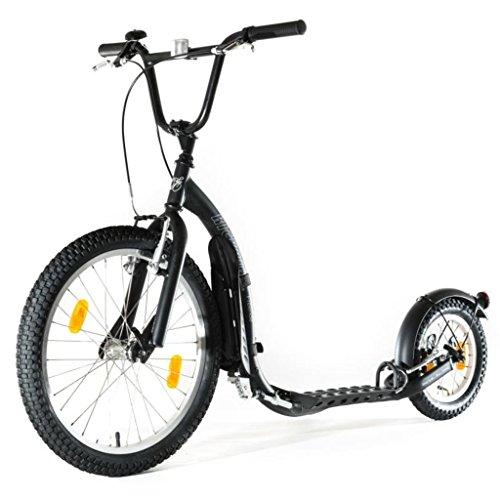 Patinete negro deportivo, Kickbike G4 kbfr-bla patinaje deporte Scooter