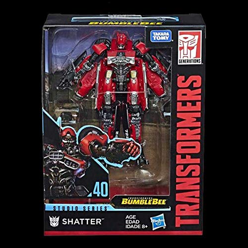 Transformers Deluxe Shatter Bumblebee Movie Studio Series No 40 Hasbro Figure