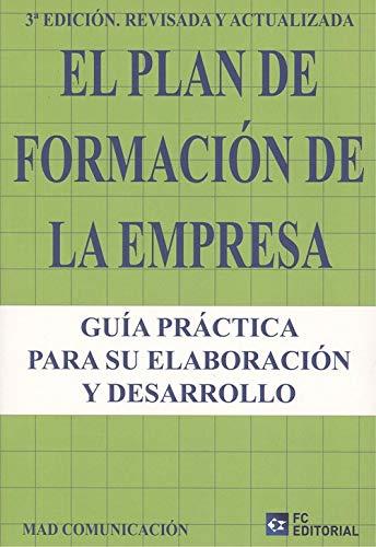 Libro ebook el plan de formación de la empresa