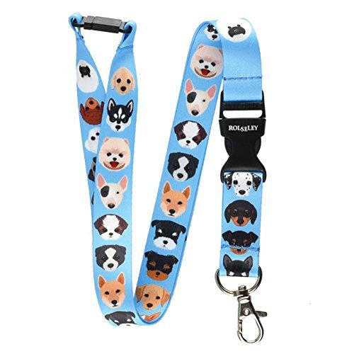 lanyards-hals-trager-fur-ausweishalter-mit-metall-clip-dog-breeds