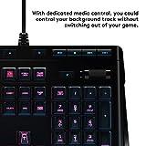 Logitech G910 Gaming Mechanische Tastatur mit RGB Orion Spectrum (Qwertz, deutsches Layout) schwarz - 6