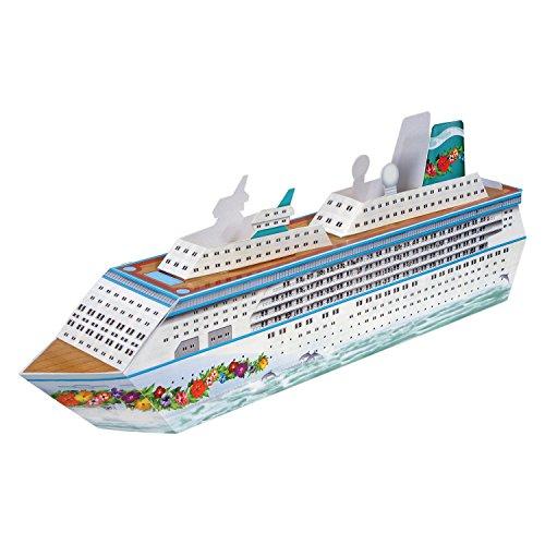 """Preisvergleich Produktbild Tischdeko """"Kreuzfahrtschiff"""" 34 x 11 cm"""