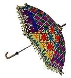 Vintage Beautiful Travel Umbrella For Ladies 24 X 28 Inches