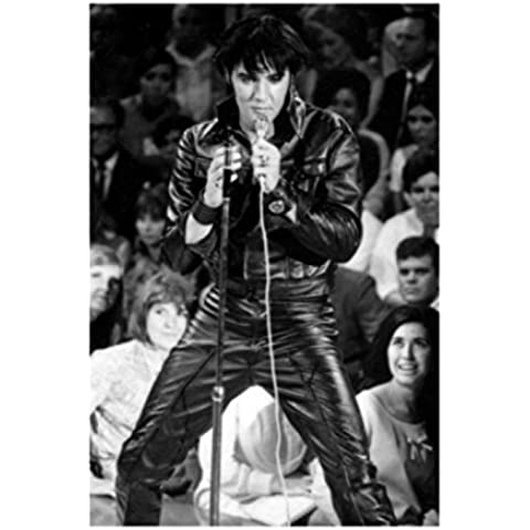 Elvis Presley - 68 Ritorno Speciale Stampa D'Arte (50 x 40cm)