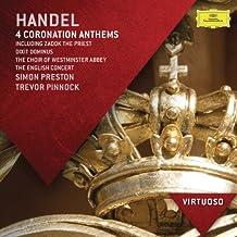 Handel: 4 Coronation Anthems Including Zadok The Priest; Dixit Dominus