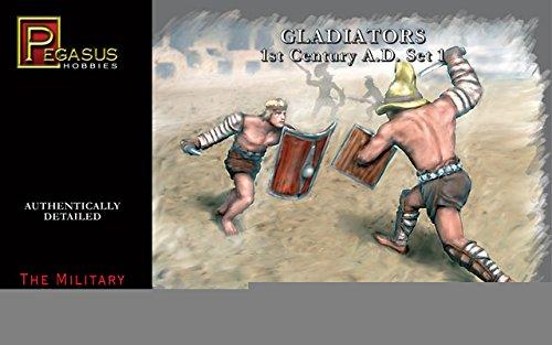 PEGASUS Gladiators 1st Century A.D. Set 1 1:32