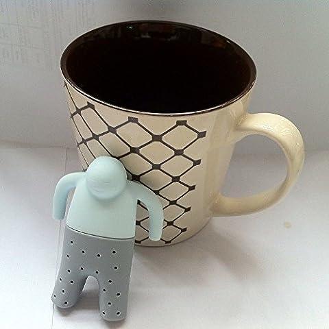 1pcs Mr.Tea Infusor de silicona Loose Tea Leaf Colador de Hierbas especias Filtro Difusor