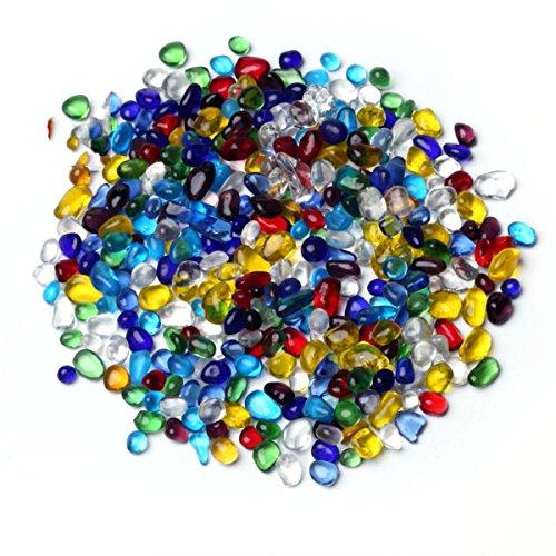 VORCOOL 300g Hochzeit Tabelle Scatter Dekorative Kristallsteine   Aquarium Aquarium Ornament für Vase Füllstoff Hochzeit Dekoration 3-5mm