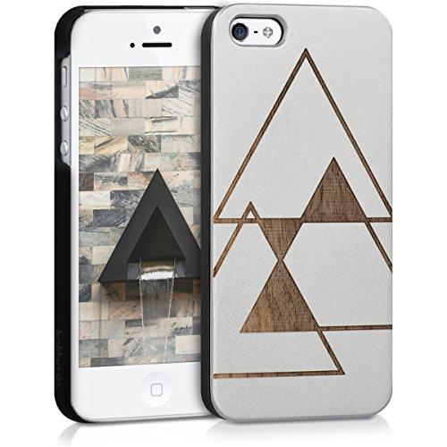kalibri-Schutzhlle-aus-Holz-mit-Laser-Gravur-fr-Apple-iPhone-SE-5-5S-Premium-Case-Cover-mit-Kunststoff-im-Triangle-Design