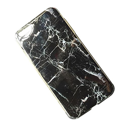 Cuitan Marmor Muster TPU Weiche Hülle Schutzhülle für Apple iPhone 6 / 6S (4,7 Zoll), Modisch Rück Abdeckung Back Cover Case Rückseite Tasche Handytasche Handyhülle für iPhone iPhone 6 / 6S (4,7 Zoll) Farbe 1