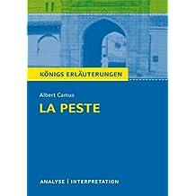 La Peste - Die Pest. Königs Erläuterungen.