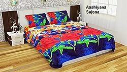 Single Bedsheet with 1 Pillow Cover by Aashiyana Sajona