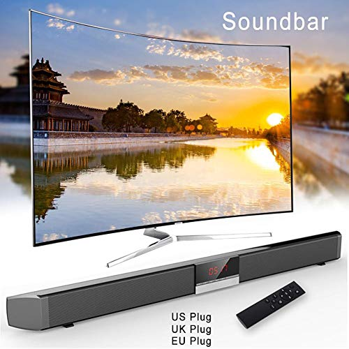 Preisvergleich Produktbild - TV Sound Bar Heimkino-Surround-Lautsprecher Kabellose & kabelgebundene Bluetooth-Soundbars Fernseher 30W 2.0-Kanal Bluetooth-Stereo-Tiefbass-Soundbar-He...
