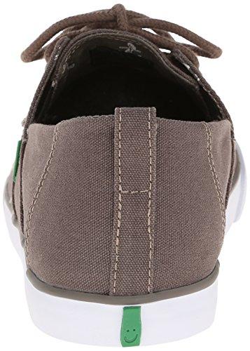 Sanuk Offshore Toile Chaussure de Bateau - - Beige