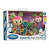 Playgro - Set mordedores: butterfly sonajero (0182808)