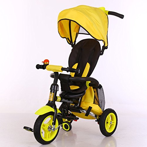 Tricycle Amp Stroller Foldable Baby Trike Inflated With