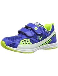 Naturino SPORT 416. 0012007798019102 - Zapatillas de tenis de cuero para unisex-adulto, color turquesa, talla 27