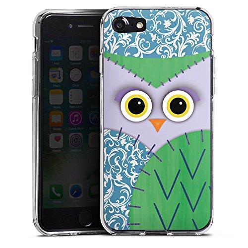 Apple iPhone X Silikon Hülle Case Schutzhülle Owl Eule Kinder Silikon Case transparent