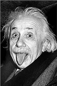 Empire, Poster di Einstein che fa la linguaccia, Bianco/Nero (Bunt), 61 x 91,5 cm