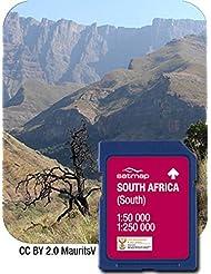 Satmap Karte Südafrika Süden 1:50000 für Satmap Active 10 & Satmap Active 12