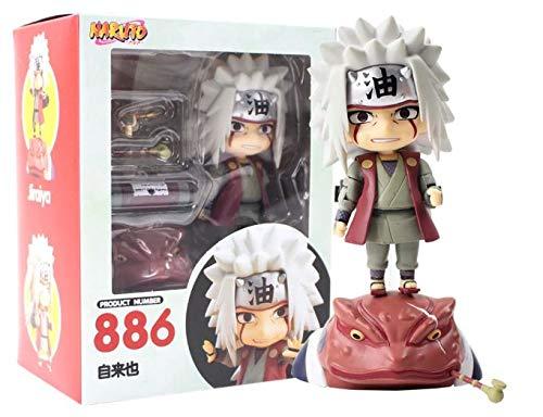 Nendoroid Figura Naruto Shippuden Jiraiya 886 10 cm Anime Figura de ac