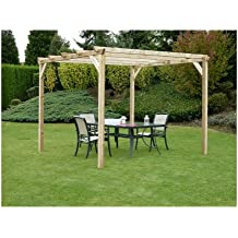 pergola bois. Black Bedroom Furniture Sets. Home Design Ideas
