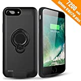 Coque Batterie iPhone 8 Plus/7 Plus/6 Plus/6s Plus,7200mAh Chargeur Portable Batterie...