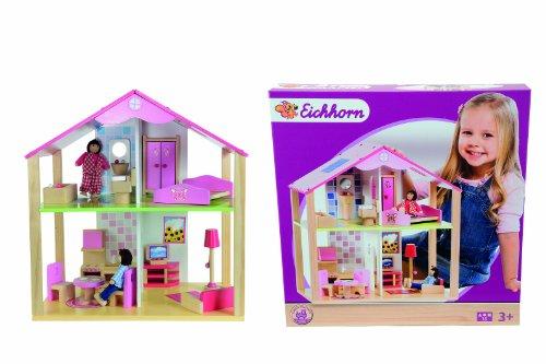 Eichhorn 100002498 - Kleines Puppenhaus, 16-teilig
