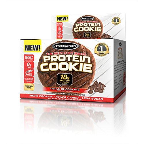 Muscletech Products - Proteina biscotto morbido al forno triplo cioccolato - 6 Biscotti - 51sajtwgKHL