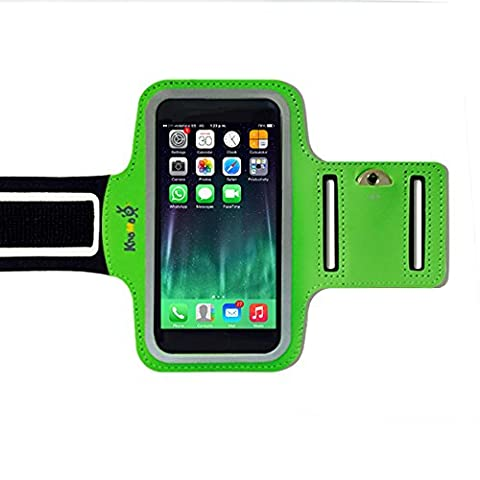 KHOMO® iPhone 6 Plus / 6S Plus - Sports Armband Armtasche Armhalterung Reflektierende Armbänder Neoprene Schutzhülle Cover Case für das neue Apple iPhone 6 PLUS and 6S PLUS (5.5