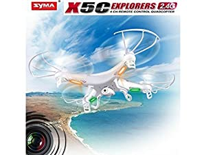 Syma X8G 2.4G 4CH 6 Achse Headless Gyro RTF RC Drone Quadcopter mit 8MP 1080P HD-Kamera