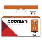 Arrow 257 Grapas, 11 mm, pack de 1000