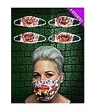 Islander Fashions Adulto Gofy Deth Surgeon Mask 4 Surtido Unisex Halloween Party Wear Accesorio Un Tama�o