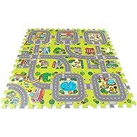 Brigamo 18011 - ☀ Stadt Puzzlematte unendlich erweiterbar! ☀ preisvergleich bei kleinkindspielzeugpreise.eu