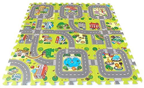 Brigamo, Stadt Puzzlematte unendlich erweiterbar