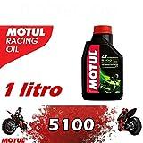OLIO MOTORE TECHNOSYNTHESE 5100 10W40 PER MOTO 1 LITRO - 104066 MOTUL