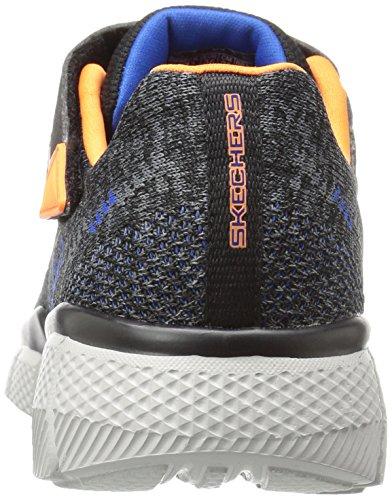 Skechers Equalizer 2.0-Point Keeper, Sneakers Basses Garçon Gris (Ccbk)