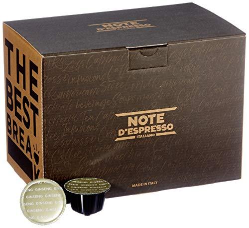 Note D'Espresso Ginseng Instantkapseln, kompatibel mit Dolce Gusto, 8,5g x 48 Kapseln