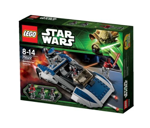 LEGO Star Wars - 75022 - Jeu de Construction - Speeder Mandalorian