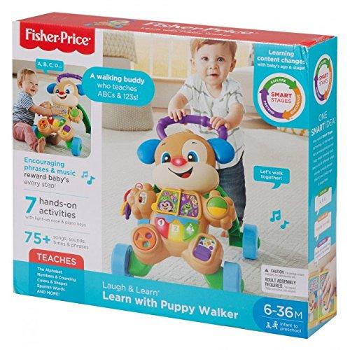 Fisher-Price FRC79 Laugh and Smart Stages - Juguete para aprender con paseador de cachorro, multicolor