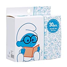 Smurfs  Disposable Toilet Seat Covers 30-Pieces (Pack of 1)